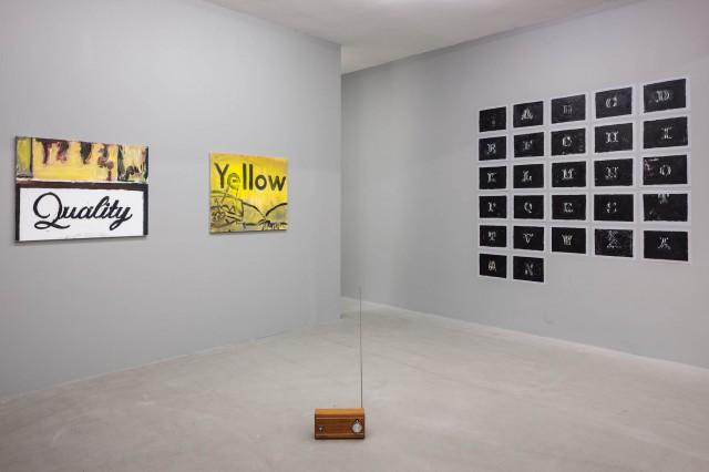 En utställning inte gjord av ett barn
