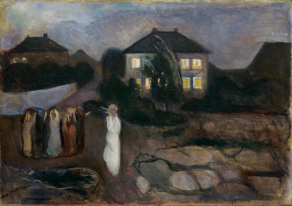 Överväldigande Munch-upplevelse