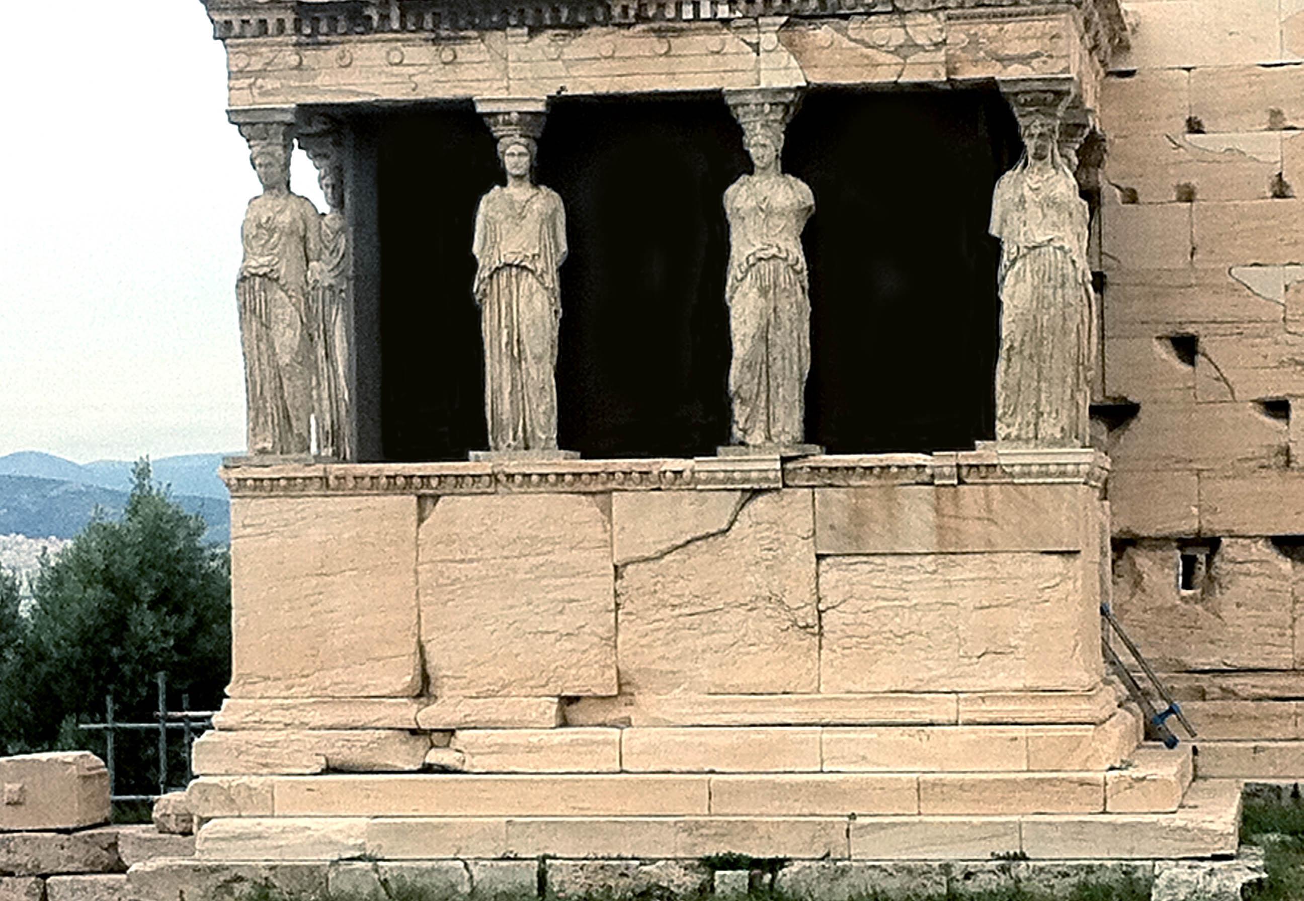 Vykort från Aten
