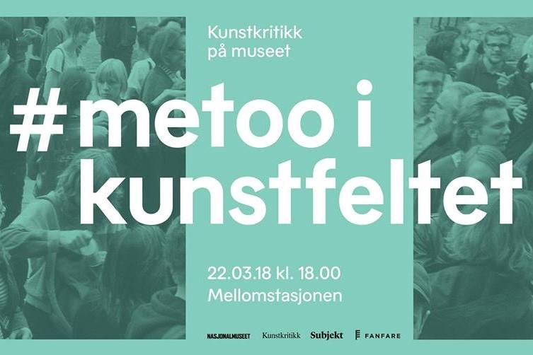 Debatt om #metoo i kunstfeltet