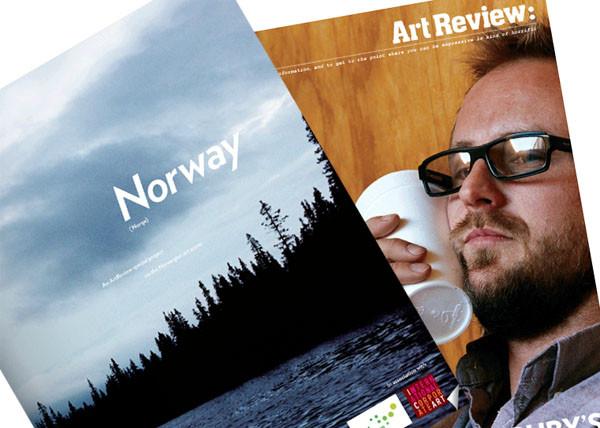 Norsk kunstscene i Art Review