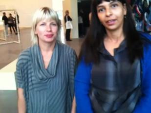 Intervju med Lina Džuverović og Stina Högkvist
